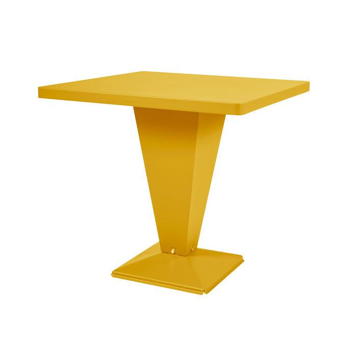 Tolix - Kub Tisch - quadratisch farbig
