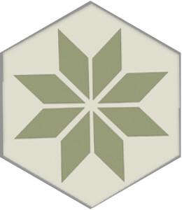 Zementfliese No. H20M004