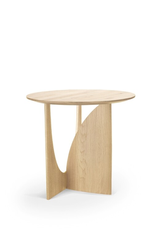 Geometric Sidetable - Eiche