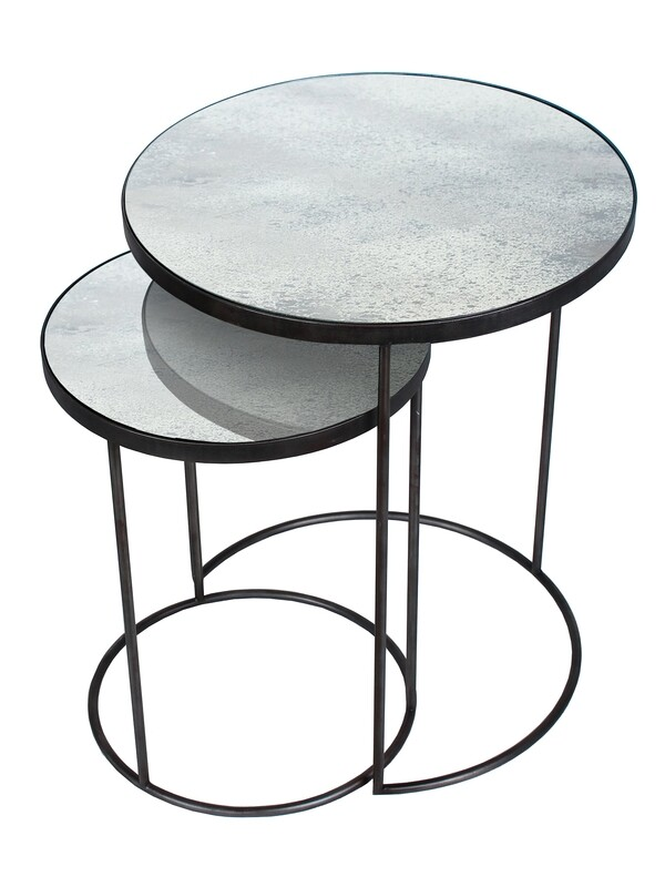 Nesting Sidetable Set - Clear