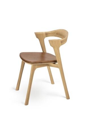 Bok Stuhl - Eiche, mit Sitzpolster