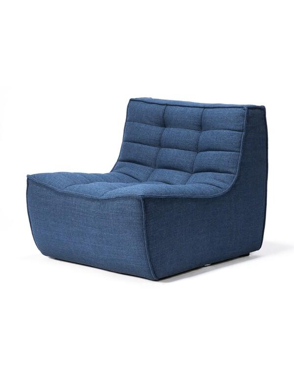 N701 Sofa - 1 Sitzer,  Blau