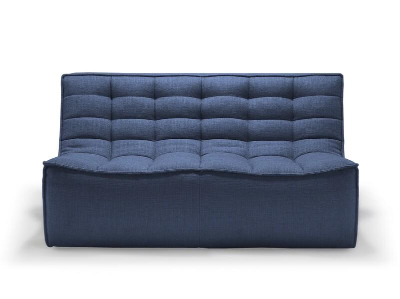 N701 Sofa - 2 Sitzer, Blau
