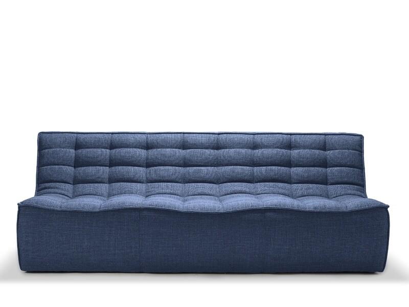 N701 Sofa - 3 Sitzer, Blau