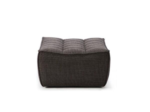 N701 Sofa - Polsterhocker, Dunkelgrau