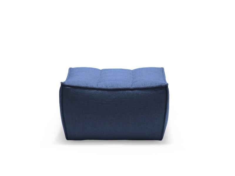 N701 Sofa - Polsterhocker, Blau