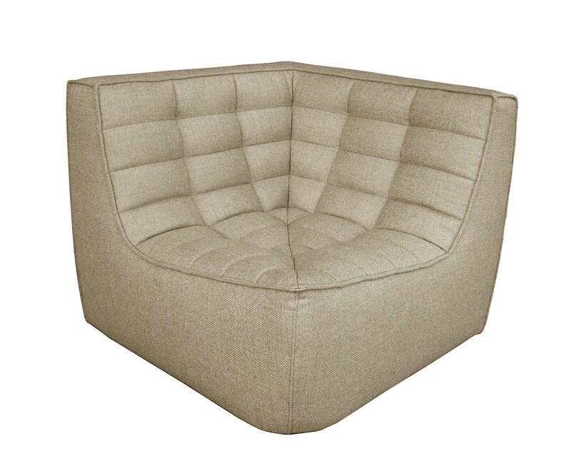 N701 Sofa - Ecke, Beige