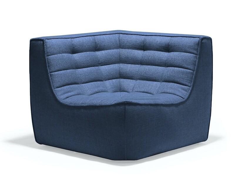 N701 Sofa - Ecke, Blau