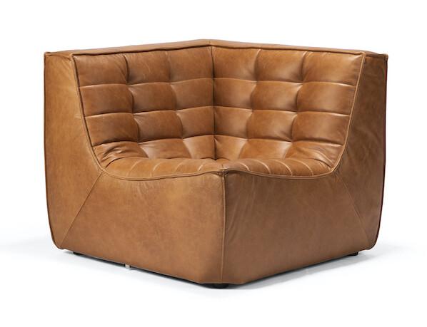 N701 Sofa - Ecke, Leder