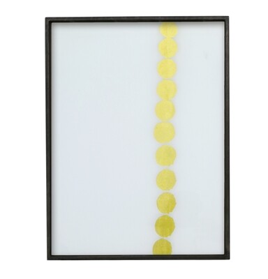 Tablett rechteckig, S - Glas, Dotted Line