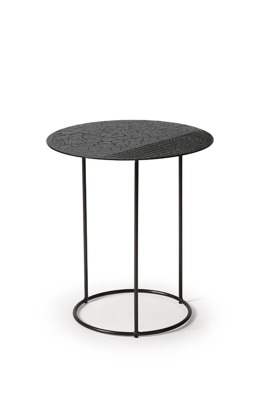 Celeste Sidetable - Lava Linear, Black