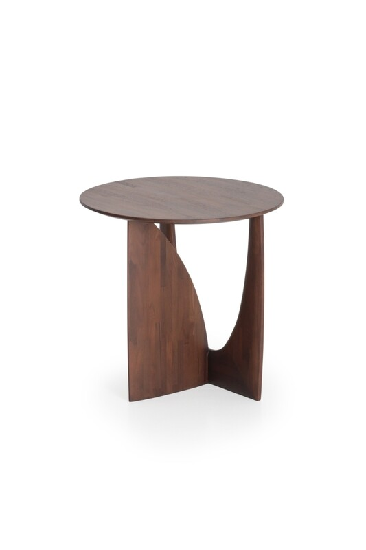 Geometric Sidetable - Teak