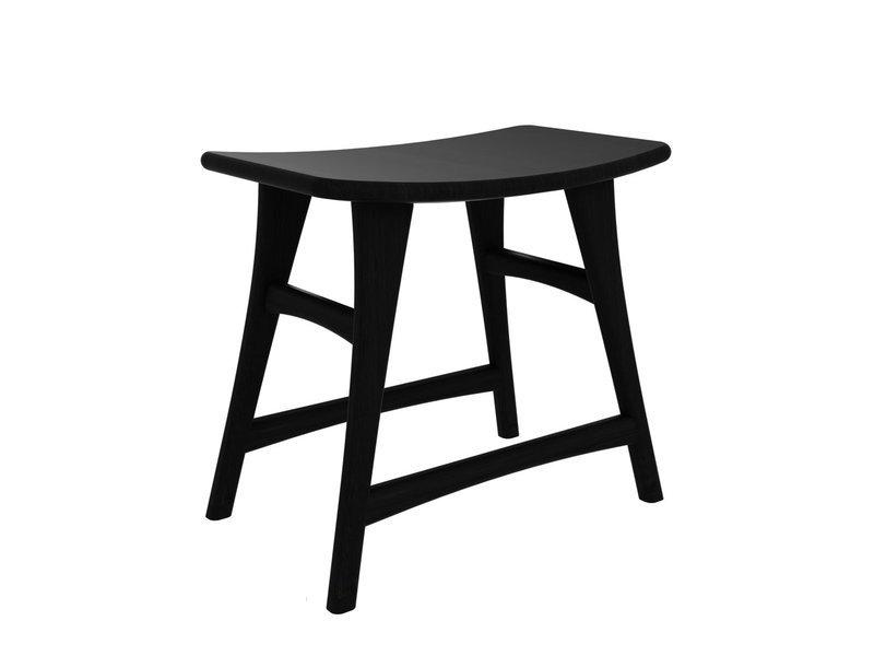 Osso Stuhl - Eiche, schwarz