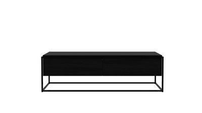 Monolit TV Möbel - Eiche, schwarz