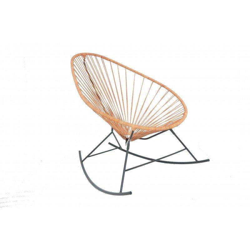Acapulco Rocking Chair - Leder