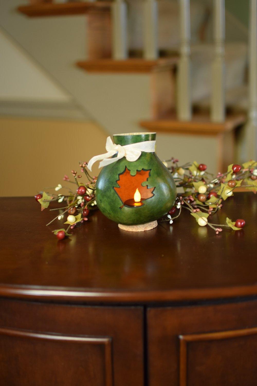 Leaf Vase- Green
