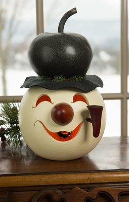 Walter Snowman Head- Large