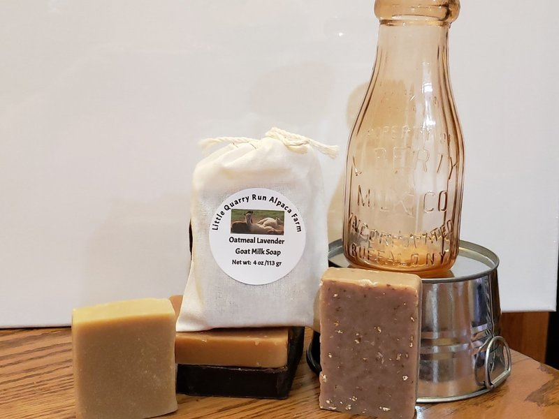 Goat Milk Soap- Oatmeal Rosemary and Peppermint