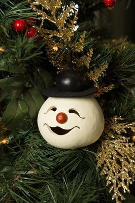 Walter Snowman Head- ornament