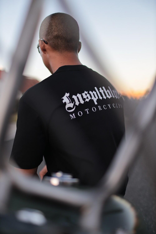 """""""Lnspltblvd Motorcycles"""" Tee (BLACK)"""
