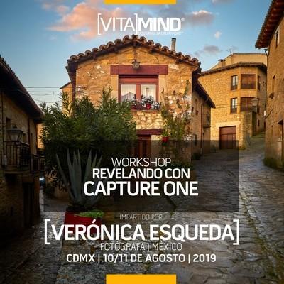"""07 MASTERCLASS: """"Revelando con Capture One"""" 10 y 11 de Agosto 2019"""
