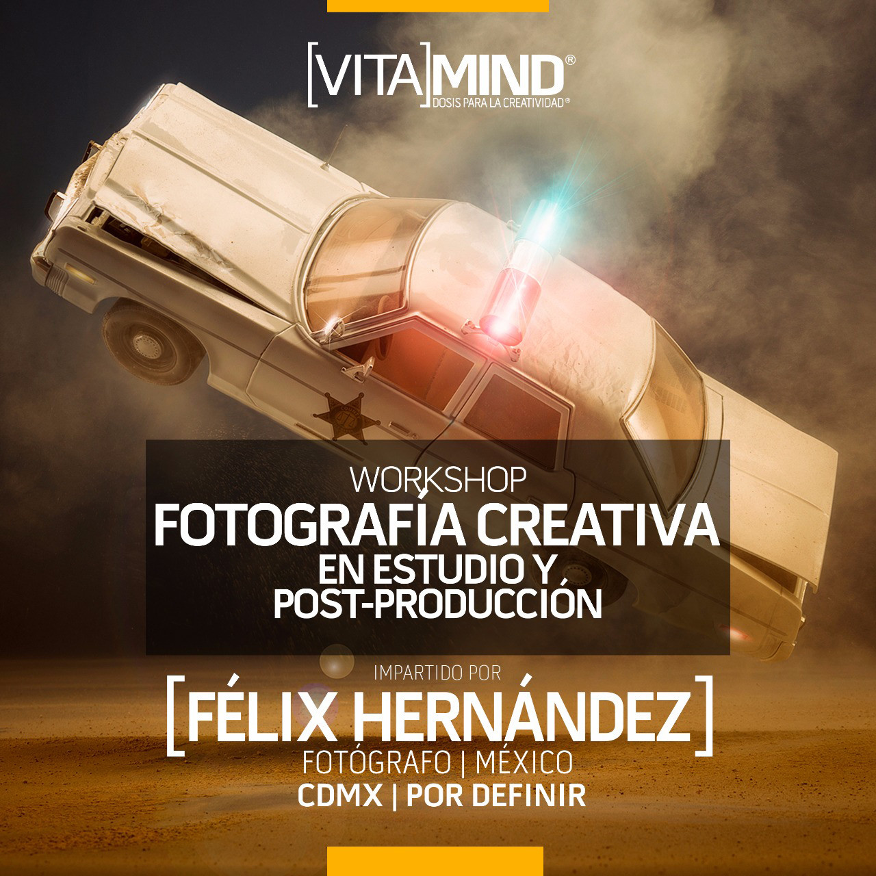 "02 WORKSHOP: ""Fotografía Creativa en Estudio y Post-producción"" PROXIMAMENTE"