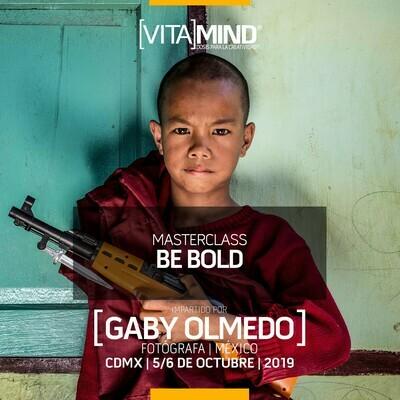 """10 MASTERCLASS: """"Be Bold"""" 5 y 6 de Octubre 2019"""