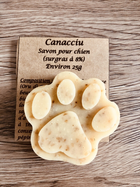 Canacciu Savon Pour Chien