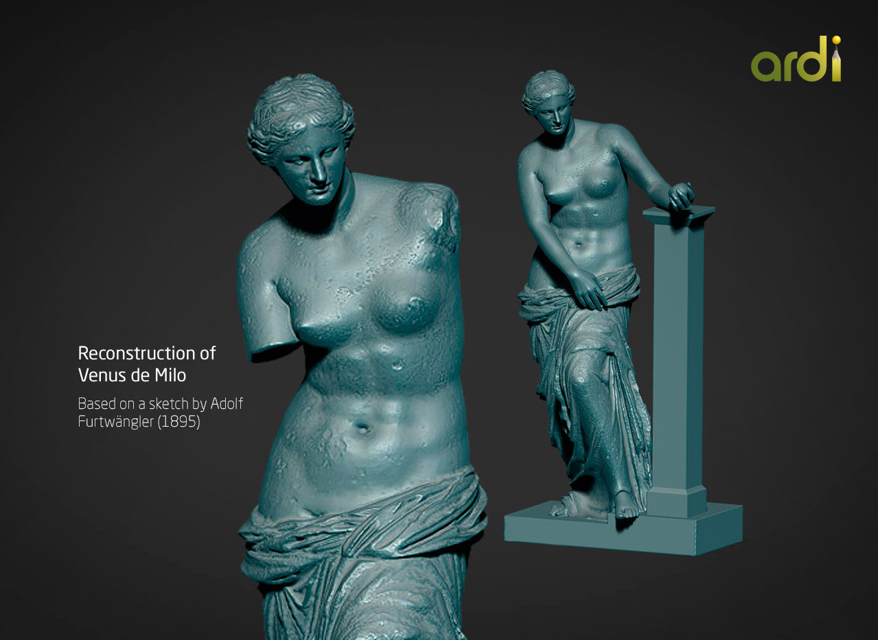 Venus de Milo (reconstruction)