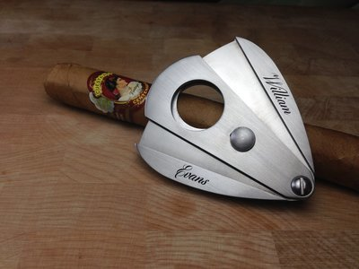 Hand Engraved Cigar Cutters