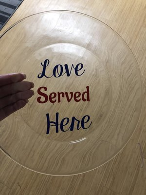 Love served here