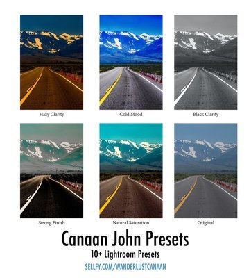 Canaan John Lightroom Presets