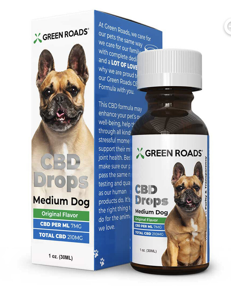 CBD Drops Medium Dogs (15-50 lbs)