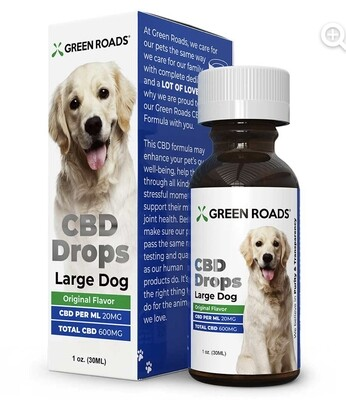 CBD Drops Large Dogs (over 50 lbs)