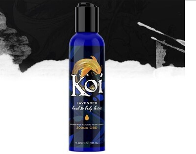 KOI CBD Infused Hand and Body Lotion - Lavender