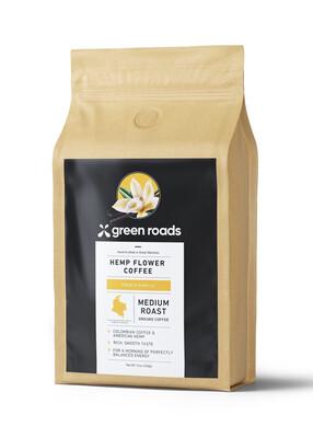 French Vanilla Hemp Flower Coffee 12oz.