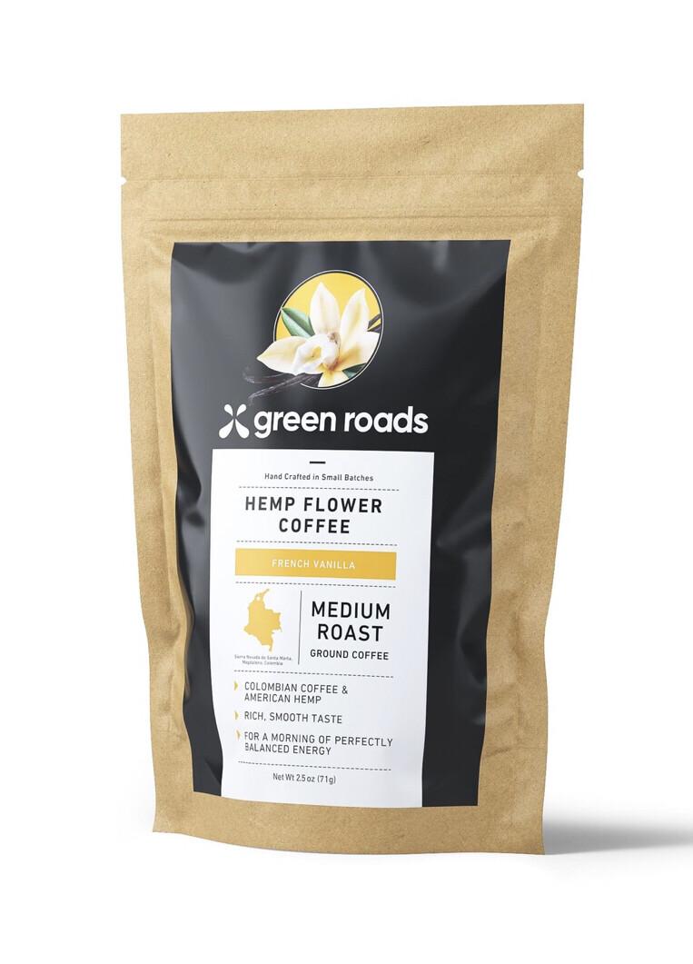 French Vanilla Hemp Flower Coffee 2.5oz.