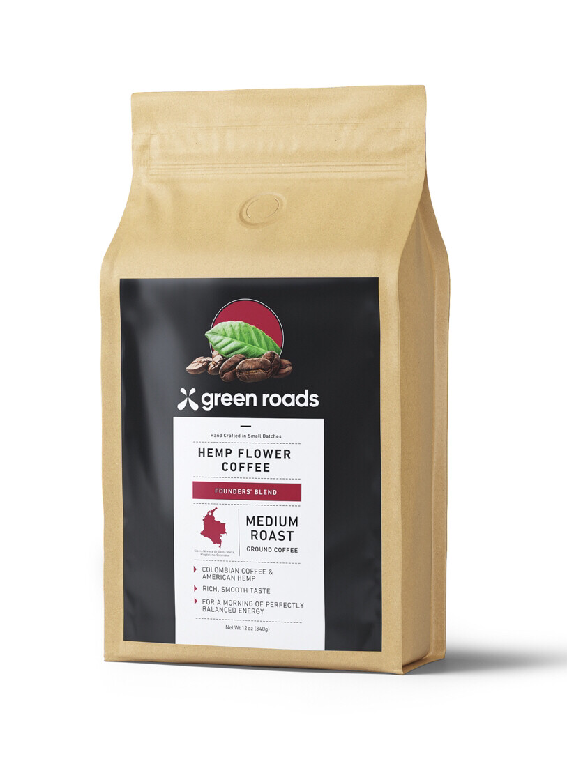 Founders Blend Hemp Flower Coffee 12oz.