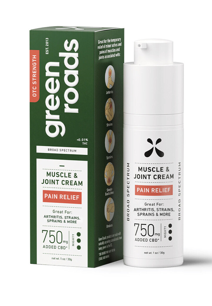 Muscle And Joint Relief Cream 750mg