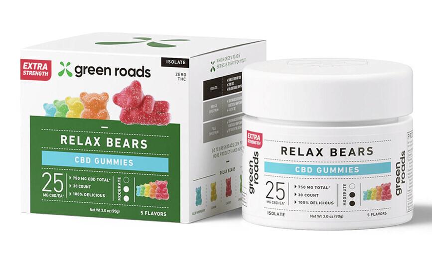 Extra Strength CBD Relax Bears