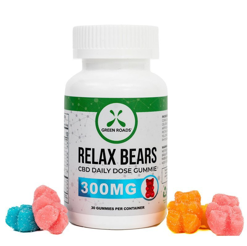 CBD Relax Bears 300MG