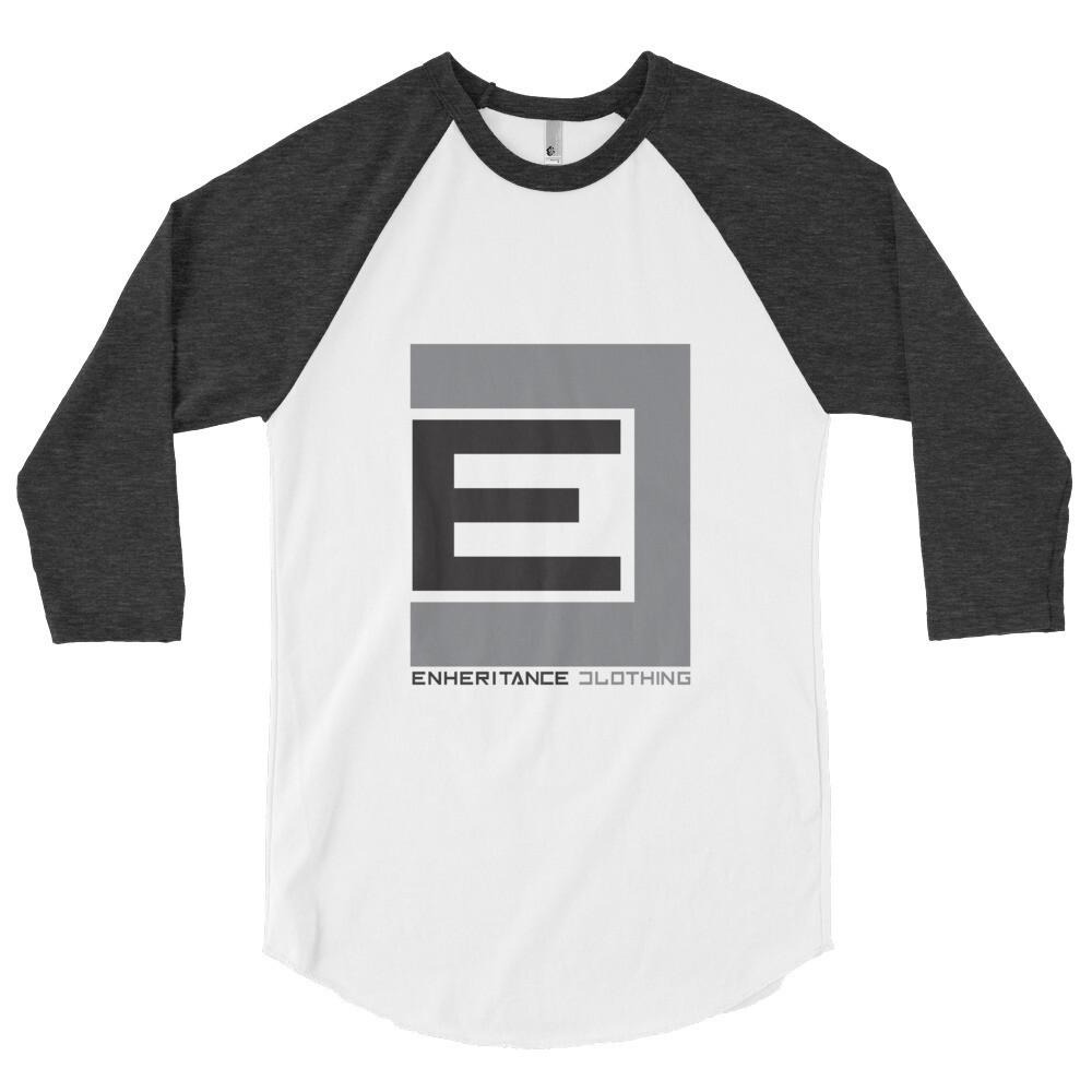 REBEL 3/4 Sleeve Raglan Shirt