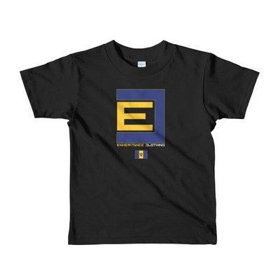 Enheritance BARBADOS/ITALY Kids T-Shirt