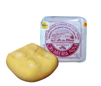 Cavalleria Nova Curado Añejo Mahon Cheese (Approx. 3Kg)