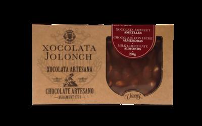Jolonch Artisan Milk Chocolate Almonds 200g