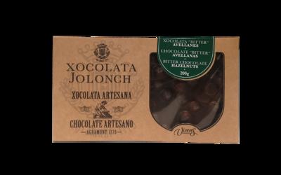 Jolonch Artisan Dark Chocolate Hazelnut 200g