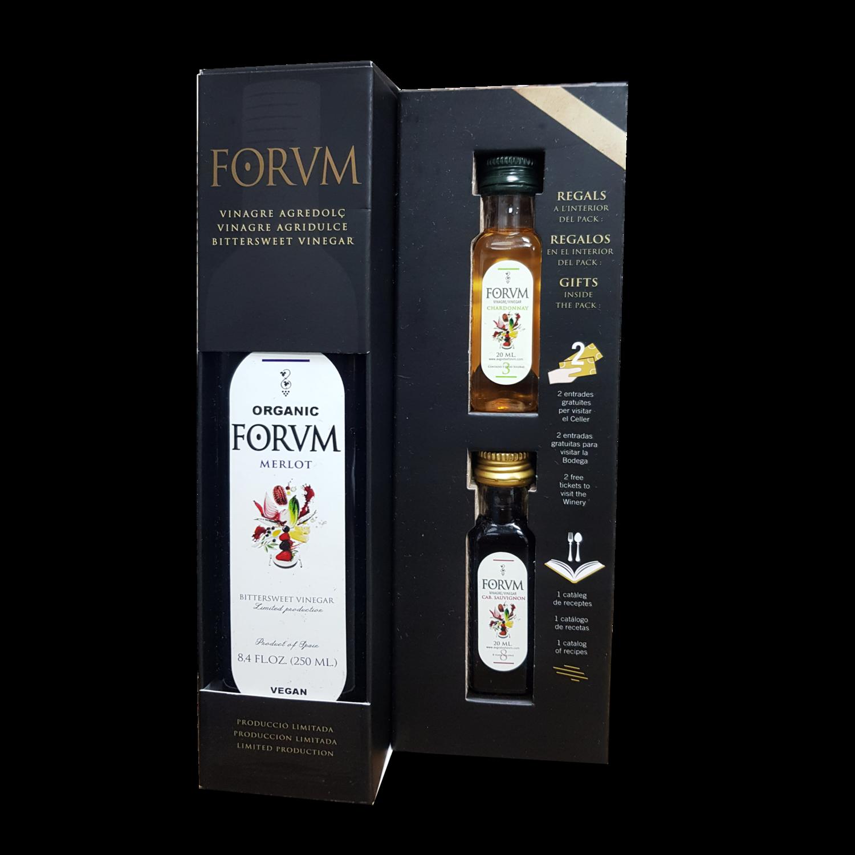 Forvm 1 Bottle and 2 Mini Bottles