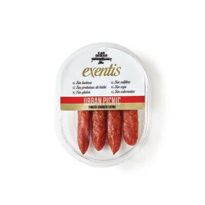 Finger Chorizo Exentis 125g Pack