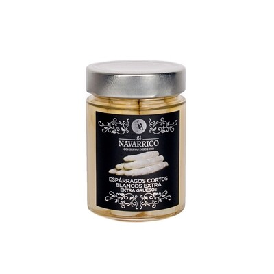 El Navarrico Premium White Short Asparagus
