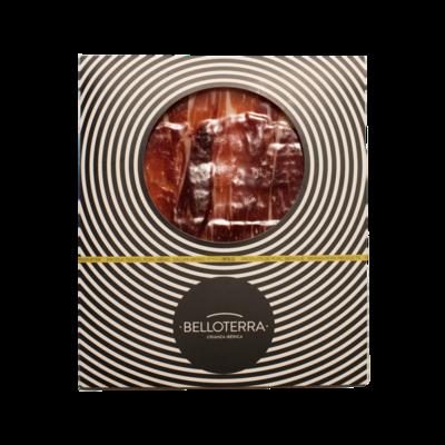 Jamon 100% Iberico de Bellota Pedroches Premium Belloterra Hand Carved 80g Pack